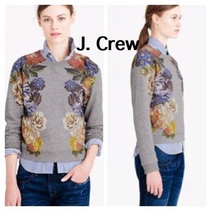 J . Crew | Dutch Floral Sweatshirt